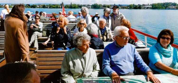 Reise an Bodensee und in die Ost – Schweiz